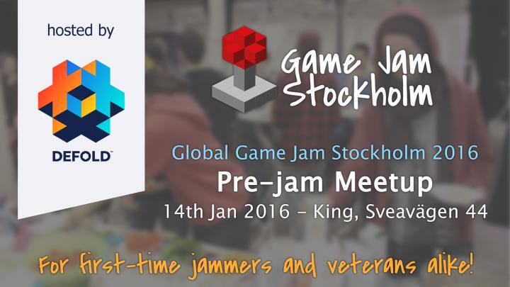 GGJSthlm16 pre-jam meetup banner